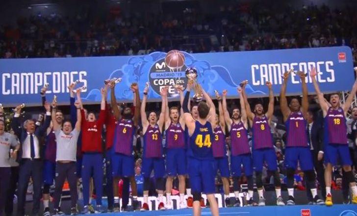 צפו בתקציר: ברצלונה ניצחה את ריאל מדריד וזכתה בגביע המלך