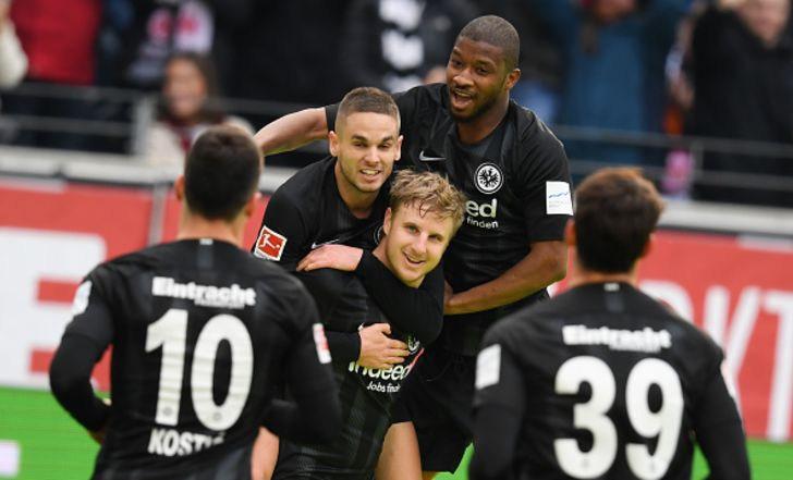 צפו בתקציר: ניצחון ליגה רביעי ברציפות לפרנקפורט, 0:1 על נירנברג