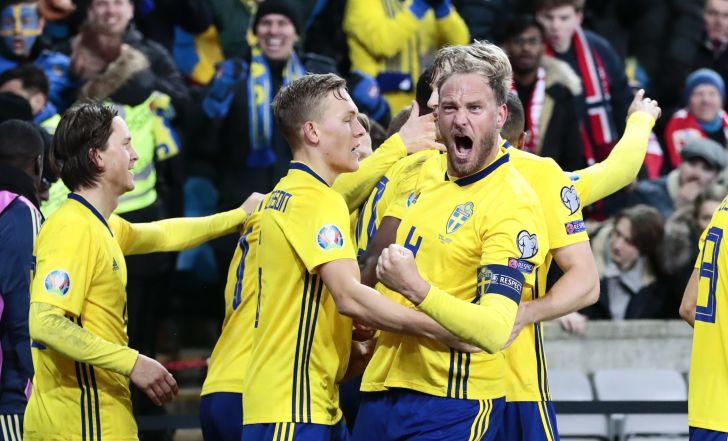 צפו בתקציר: צמד שערים דרמטיים בדקה ה-90, שבדיה ונורבגיה נפרדו ב-3:3