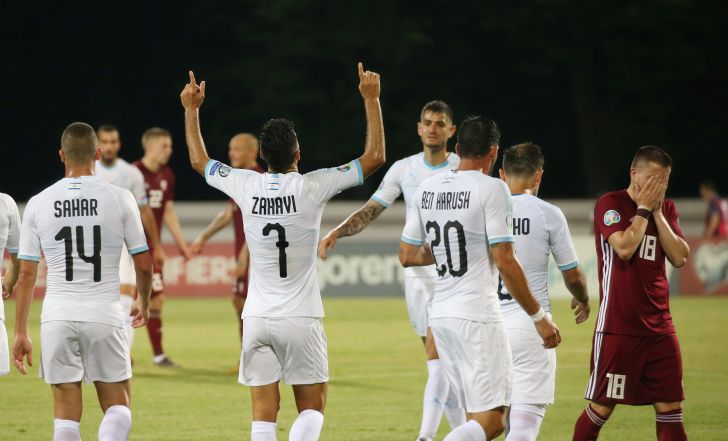 צפו בתקציר: זהבי כבש עוד שלושער, ישראל ניצחה 0:3 את לטביה