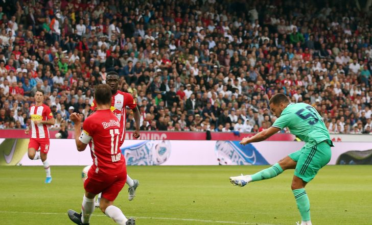 צפו בתקציר: ריאל מדריד ניצחה את זלצבורג משער בכורה של אדן הזאר