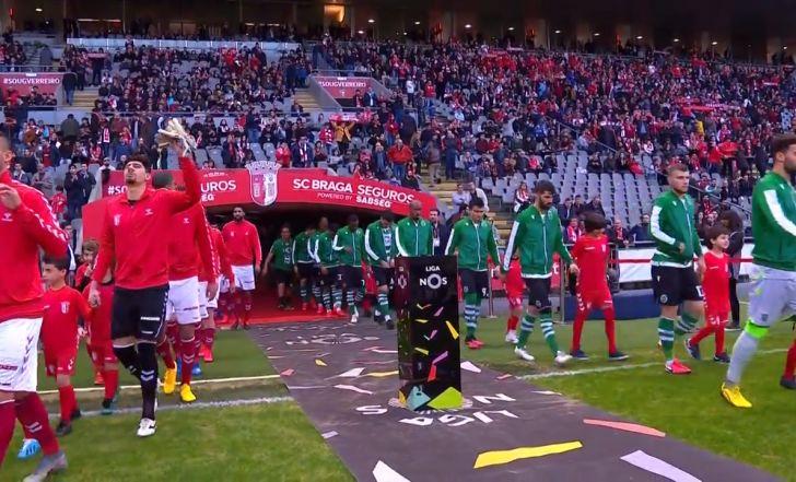 צפו: ניצחון חמישי ברציפות לבראגה, 0:1 על ספורטינג ליסבון