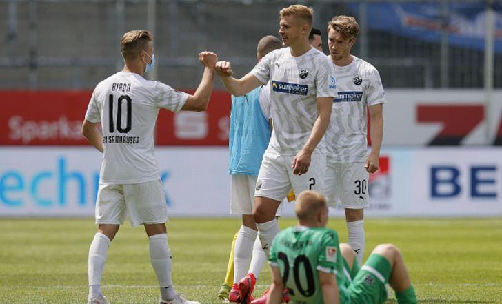 צפו בתקציר: ניצחון שני ברציפות לסנדהאוזן, הפעם 1:3 על האנובר