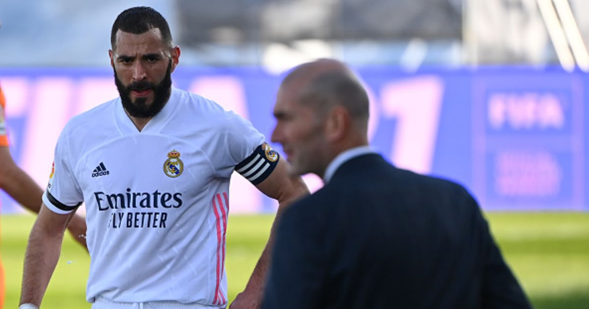 Real Madrid: Benzema will also be out against Real Sociedad, Zidane's squad