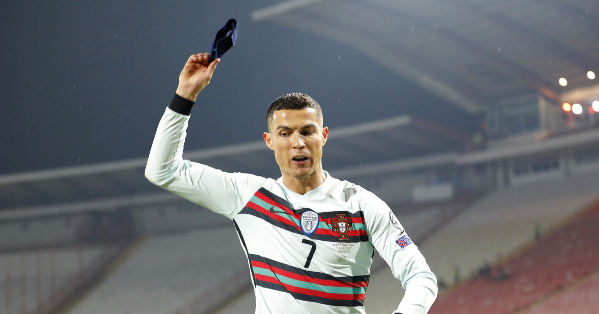 Portugal national team: Ronaldo is furious after the goal was disallowed against Serbia
