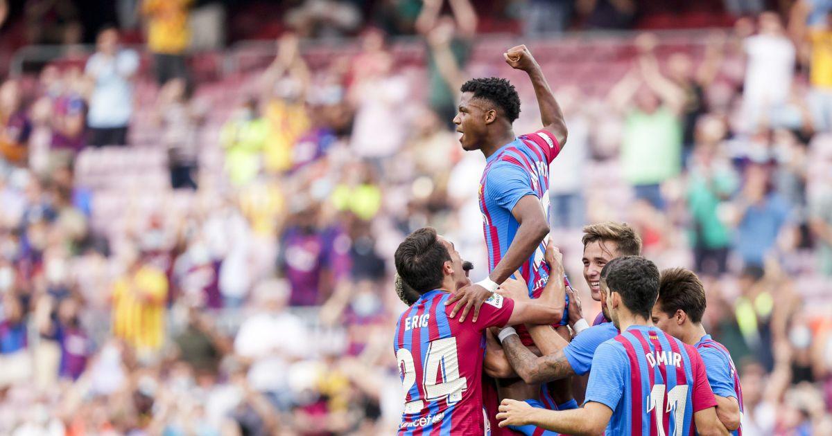 "Barcelona: ""Like Ronaldinho, Enso Patti causes faith"""