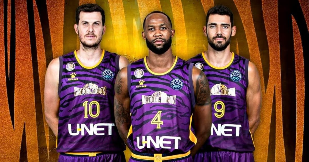 With the help of tiger uniforms and acquaintances: Hapoel Holon in Brindisi