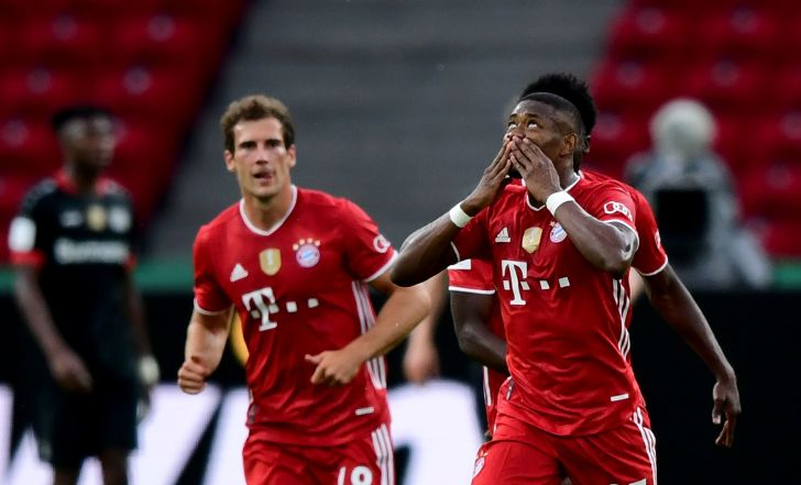 באיירן מינכן זכתה בגביע הגרמני עם 2:4 על לברקוזן