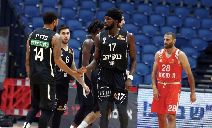 ירושלים מחצה את נס ציונה 79:104 ועלתה ל-0:1 בסדרה