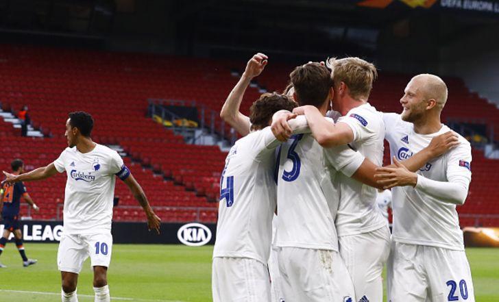 הצגה: 0:3 לקופנהאגן על בשאקשהיר בדרך לרבע גמר הליגה האירופית