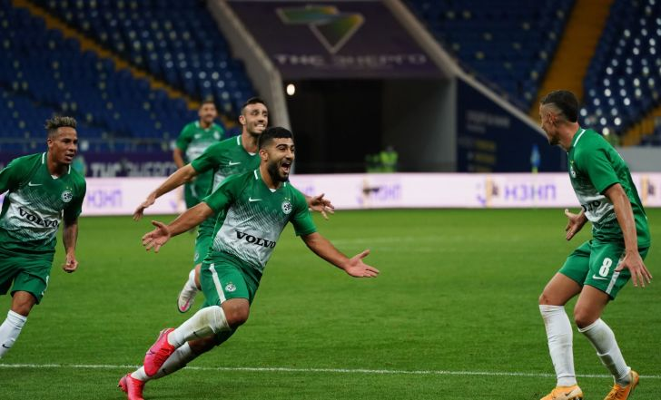 השמחה התפרצה: צפו במכבי חיפה חוגגת את הניצחון על רוסטוב