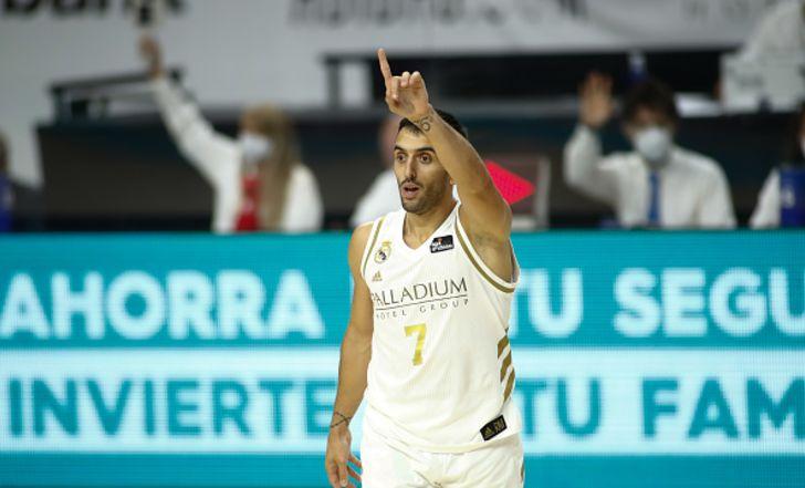 ריאל מדריד הביסה 77:93 את אסטודיאנטס