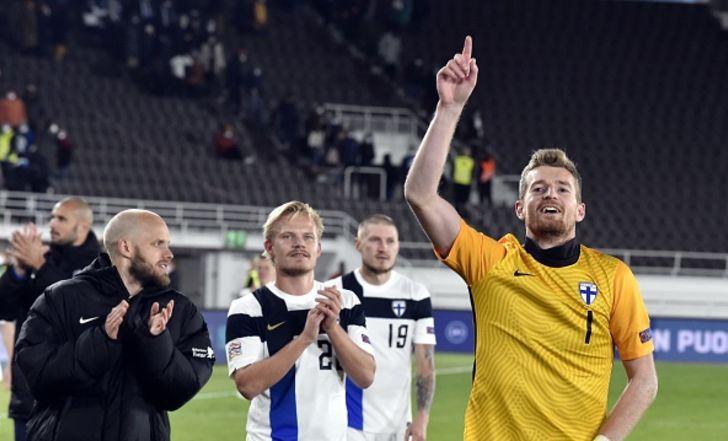 פינלנד ניצחה את אירלנד ועלתה לראש הבית בליגת האומות