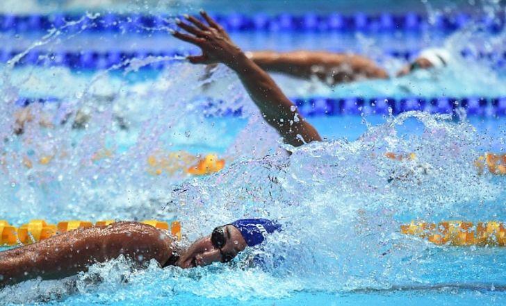 אנדי מורז שברה שיא ישראל ב-100 מטר חופשי