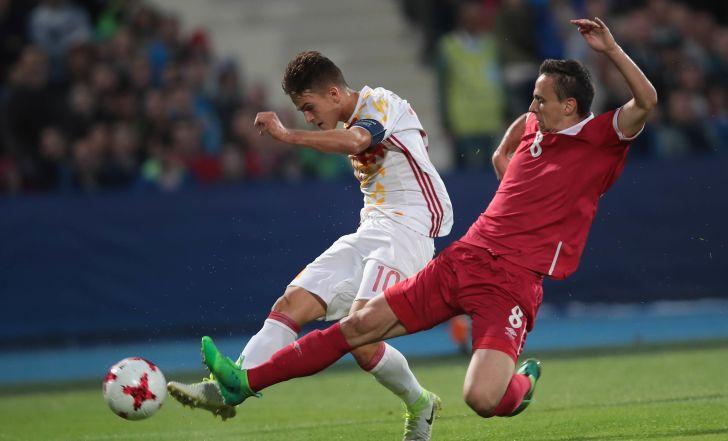 צפו: סוארס כבש, 0:1 לספרד על סרביה