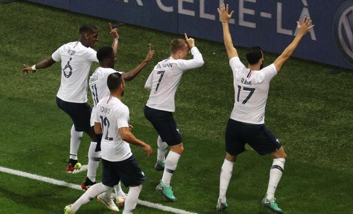 צפו בתקציר: צרפת לא התקשתה ב-1:3 על איטליה