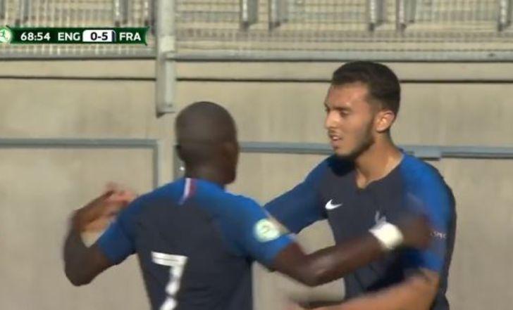 צפו בתקציר: צרפת ריסקה את אנגליה 0:5 ביורו הצעירות