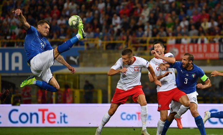 צפו בתקציר: 1:1 בין איטליה לפולין בליגת האומות