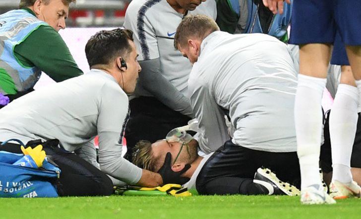 קשה לצפייה: פציעת ראש קשה ללוק שואו מול ספרד