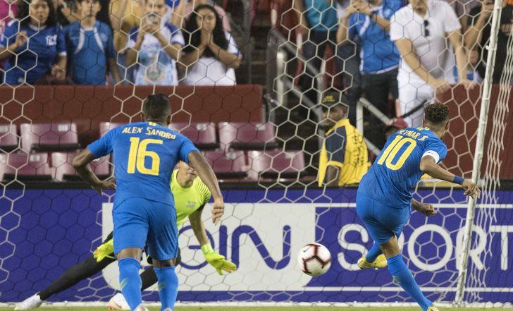צפו בתקציר: ברזיל מחצה את אל סלבדור 0:5