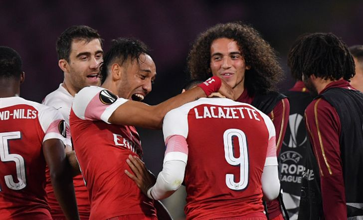 צפו בתקציר: לקאזט סידר ניצחון על נאפולי באיטליה, ארסנל תפגוש את ולנסיה בחצי הגמר