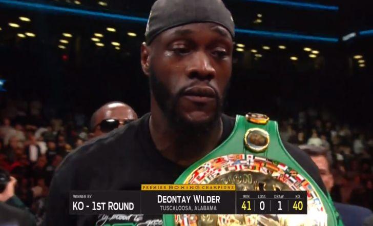 צפו בתקציר: דיאונטיי וויילדר הוא (שוב) אלוף העולם של WBC