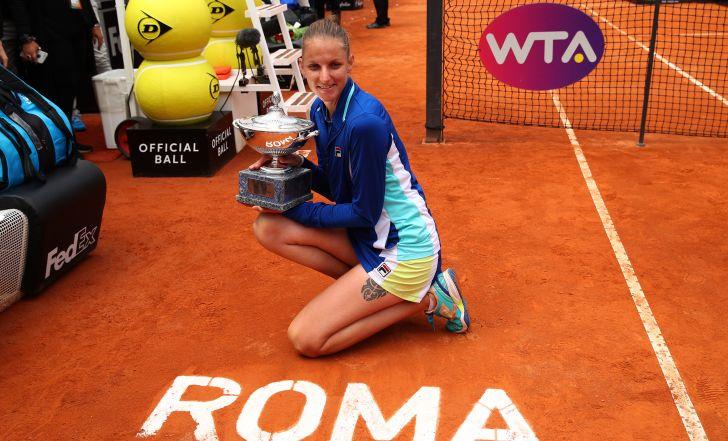 צפו בתקציר: הצ'כית קרולינה פלישקובה זכתה בטורניר רומא