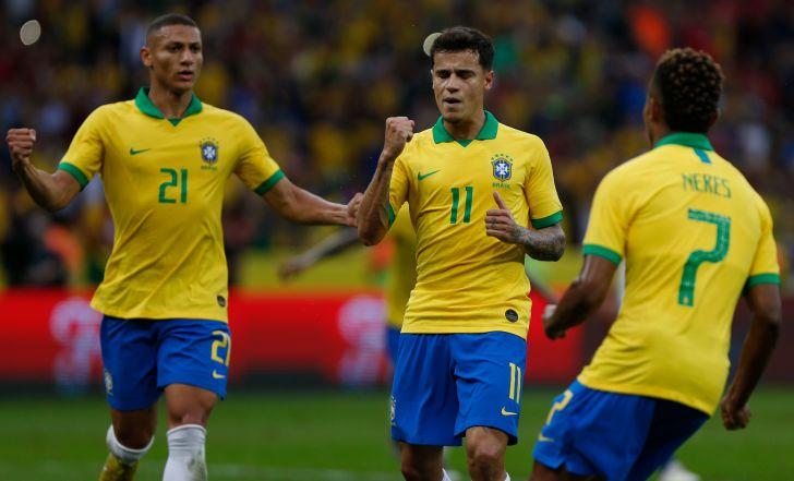 צפו בתקציר: 0:7 לברזיל על הונדורס בחזרה הגנרלית לקופה אמריקה