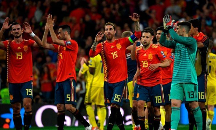 צפו בתקציר: ספרד הביסה את שבדיה 0:3 והתבססה במקום הראשון