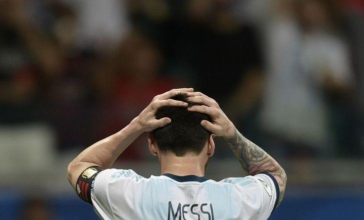 צפו: ארגנטינה ומסי הפסידו 2:0 לקולומביה
