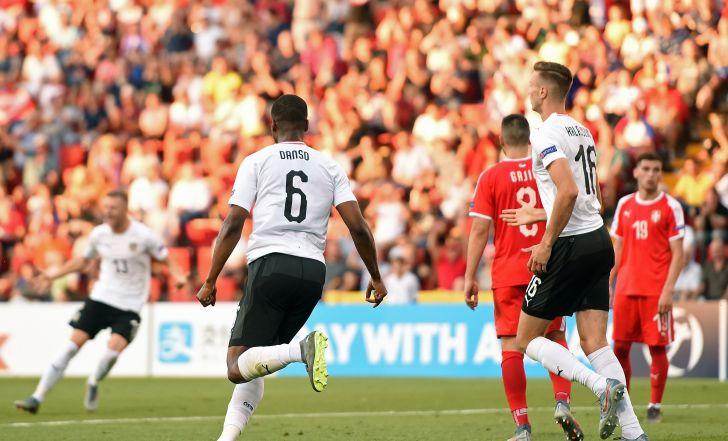 צפו בתקציר: החמצה גדולה ליוביץ', אוסטריה הצעירה ניצחה 0:2 את סרביה
