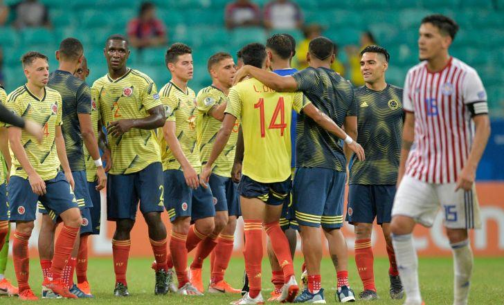 צפו בתקציר קולומביה גברה על פרגוואי ועלתה לרבע הגמר מהמקום הראשון