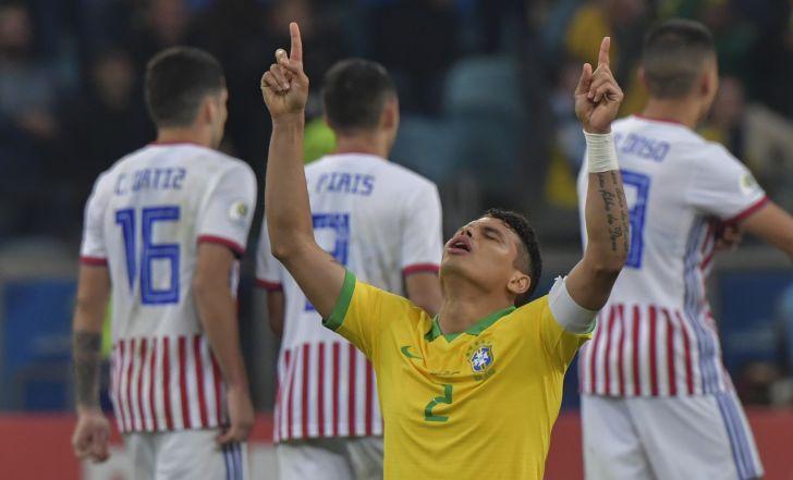 צפו בתקציר: ברזיל שרדה מותחן מול פרגוואי ועלתה לחצי הגמר