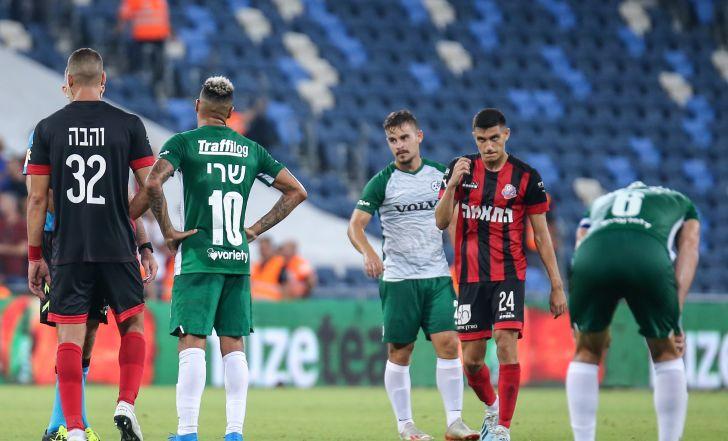 צפו בתקציר: מכבי חיפה לא הצליחה לנצח את הפועל חיפה בפעם השביעית ברציפות