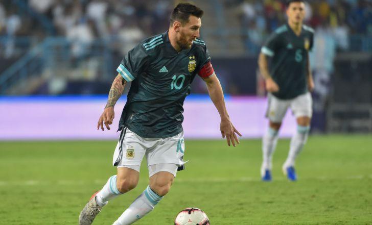 צפו בתקציר: מסי חזר לנבחרת ארגנטינה והוביל אותה ל-0:1 על ברזיל
