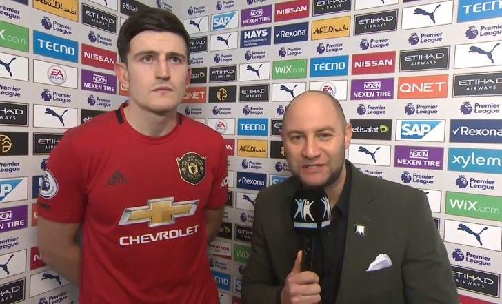ראיון של מנצח: צפו בהארי מגווייר בשיחה עם ספורט1 לאחר הדרבי