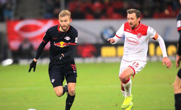 צפו: לייפציג עלתה זמנית לפסגה עם 0:3 גדול על דיסלדורף