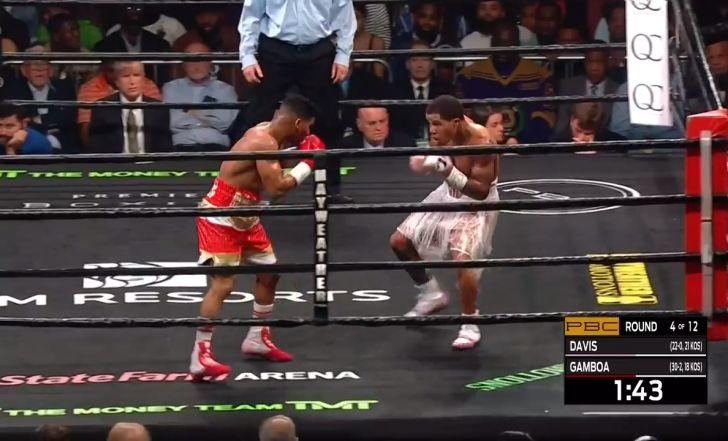 צפו בתקציר: ג'רבונטה דייויס ניצח בנוקאאוט את גמבואה וזכה בחגורה של WBA