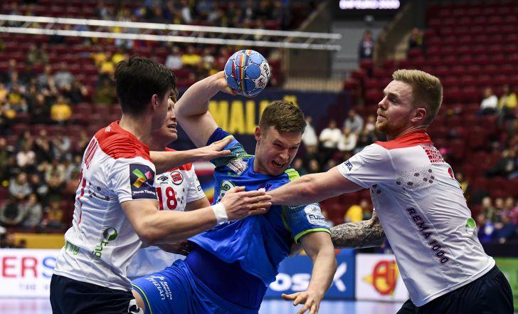 צפו:נורבגיה העפילה לחצי הגמר מהמקום הראשון אחרי ניצחון על סלובניה