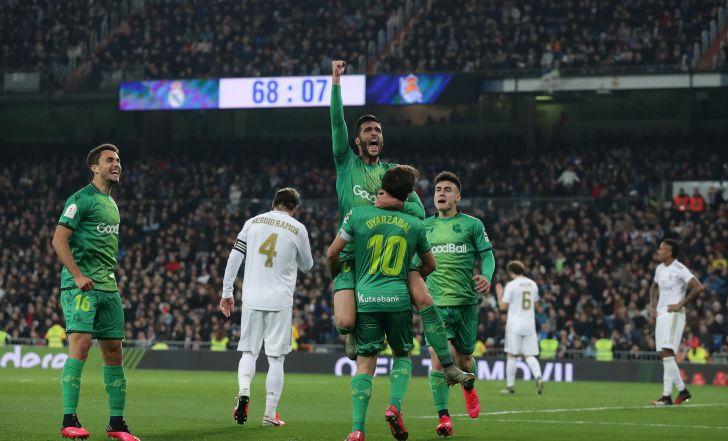 צפו בתקציר: ריאל מדריד הודחה מהגביע אחרי 4:3 סוער נגד סוסיאדד