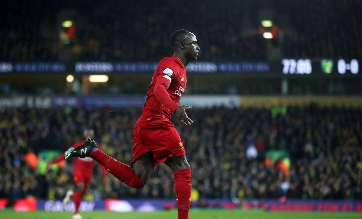צפו: ליברפול ניצחה 0:1 בנוריץ' משער נפלא של מאנה