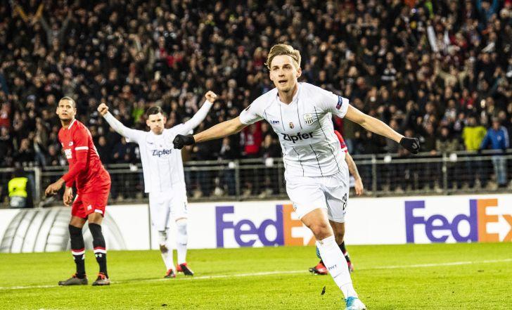 צפו בתקציר: לינץ גברה 0:2 על אלקמאר ועלתה לשמינית הגמר