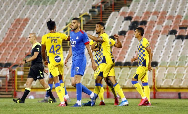 """צפו בתקציר: שני שערים מאוחרים העניקו למכבי ת""""א ניצחון 1:3 על אשדוד"""