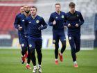 אימון נבחרת סקוטלנד