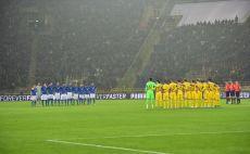 דקת הדומייה לזכר הקורבנות באצטדיון בבולוניה צילום(צילום: AFP)
