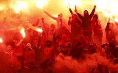 התפרעויות. כיכר פופולו ברומא לפני המשחק צילום(צילום: GettyImages)