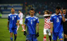 חבל על הכסף. שחקני הנבחרת בקרואטיה צילום(צילום: אודי ציטיאט)