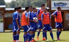 שחקני הנבחרת מתכוננים לבוסניה. יתנו סיבות לפנטז? צילום(צילום: אודי ציטיאט)