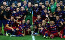 ייפרדו מהליגה הספרדית? שחקני ברצלונה צילום(צילום: Gettyimages)