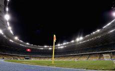 האצטדיון בקייב. פעם ראשונה שהוא יארח גמר בין קבוצות צילום(צילום: Getty)